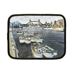 River Thames Art 7  Netbook Case by Londonimages