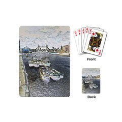 River Thames Art Playing Cards (mini) by Londonimages