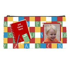 School Pencil By Kdesigns   Pencil Case   Cvt1l8xvoozb   Www Artscow Com Front