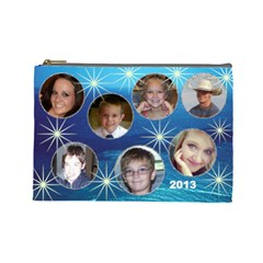 Abc Done 1 By Mary Stewart   Cosmetic Bag (large)   Ce6x9skip2x6   Www Artscow Com Front