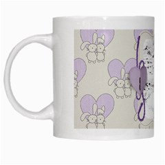 White Mug By Deca   White Mug   6ekq99u25wp8   Www Artscow Com Left