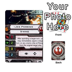 Rebel Custom Ships By Michael   Playing Cards 54 Designs   8iawvb7uat9r   Www Artscow Com Front - Heart9
