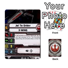 Rebel Custom Ships By Michael   Playing Cards 54 Designs   8iawvb7uat9r   Www Artscow Com Front - Heart10