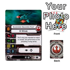 Rebel Custom Ships By Michael   Playing Cards 54 Designs   8iawvb7uat9r   Www Artscow Com Front - Spade5