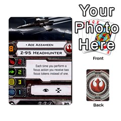Rebel Custom Ships By Michael   Playing Cards 54 Designs   8iawvb7uat9r   Www Artscow Com Front - Club5