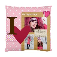 Love By Ki Ki   Standard Cushion Case (two Sides)   F9xxqwqcm9y1   Www Artscow Com Back