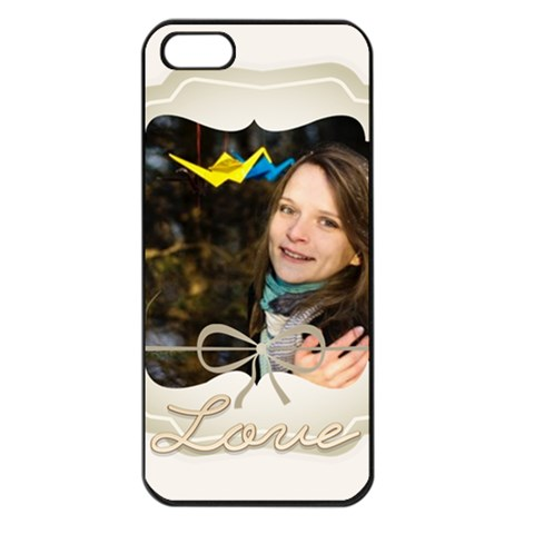 Love By Ki Ki   Apple Iphone 5 Seamless Case (black)   7khsaub2hg28   Www Artscow Com Front