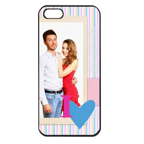 Love By Ki Ki   Apple Iphone 5 Seamless Case (black)   U2p5gdmrj2d2   Www Artscow Com Front