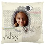 kids, fun, child, play, happy - Large Cushion Case (Two Sides)