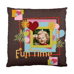 Kids, Fun, Child, Play, Happy By Jacob   Standard Cushion Case (two Sides)   Km1bvmn2uq7b   Www Artscow Com Front