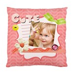 easter, spring, kids, flower - Standard Cushion Case (One Side)