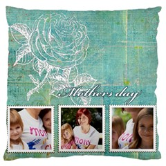 Mother s Day By Jacob   Large Cushion Case (two Sides)   I0f30zkqucqd   Www Artscow Com Front
