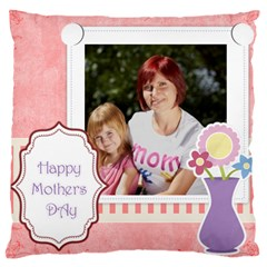 Mothers Day By Jacob   Large Cushion Case (two Sides)   Hfg0mre9kca9   Www Artscow Com Back