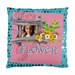 easter, spring, kids, flower - Cushion Case (One Side)