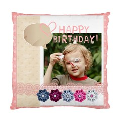 Happy Birthday By Jacob   Standard Cushion Case (two Sides)   Gak7kahvy6fh   Www Artscow Com Front