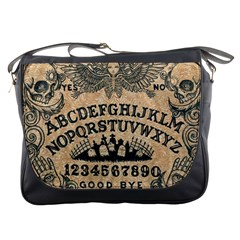 Ouijaboard Messenger Bag by ThreadsoftheDead