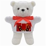 Colorful love affair Teddy bear