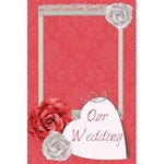 Our Wedding Planner notebook - 5.5  x 8.5  Notebook