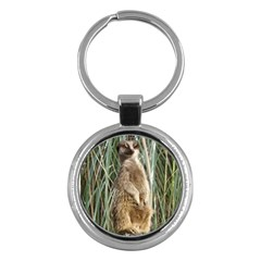 Wicked Meerkat Key Chain (Round) by TimeBomb