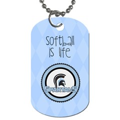Dogtags 2 Sides Riley By Pat Kirby   Dog Tag (two Sides)   67g511kghmzt   Www Artscow Com Back