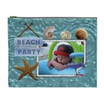Beach Party XL Cosmetic Bag - Cosmetic Bag (XL)