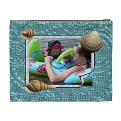 Beach Party Xl Cosmetic Bag By Lil    Cosmetic Bag (xl)   7dmkd86aaoct   Www Artscow Com Back