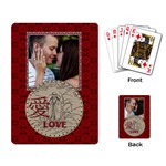 Love Playing Cards - Playing Cards Single Design
