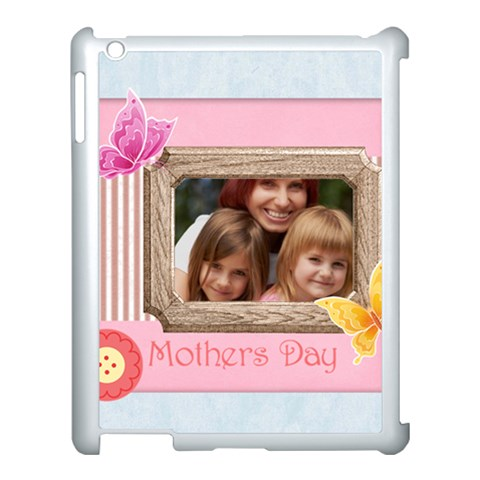 Mothers Day By Jacob   Apple Ipad 3/4 Case (white)   Aezy2cb7gkpk   Www Artscow Com Front