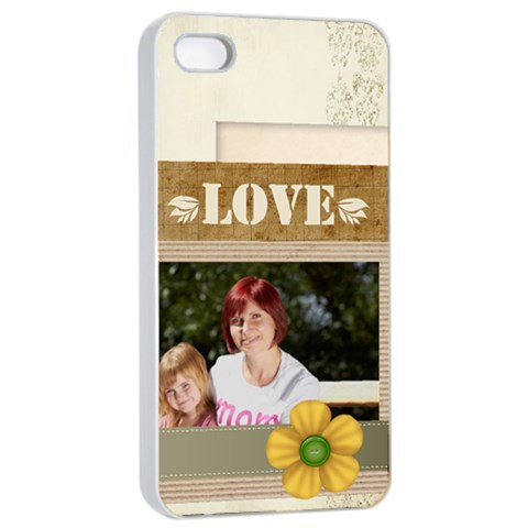 Mothers Day By Jacob   Apple Iphone 4/4s Seamless Case (white)   Pg0ptd86x77p   Www Artscow Com Front