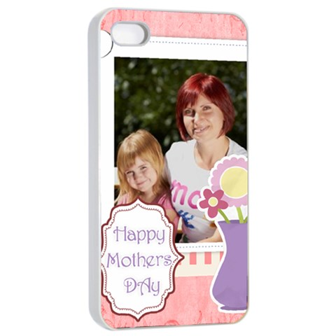 Mothers Day By Jacob   Apple Iphone 4/4s Seamless Case (white)   9ox5f9fa2uu1   Www Artscow Com Front