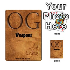 Og Weapons By Michael   Playing Cards 54 Designs   Jnt4zzi4xemt   Www Artscow Com Back
