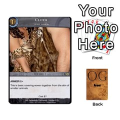 Og Armor By Michael   Playing Cards 54 Designs   Hf26xn1xtgd4   Www Artscow Com Front - Club4