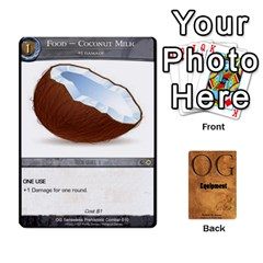 Og Equipment By Michael   Playing Cards 54 Designs   T0otrr91r1em   Www Artscow Com Front - Diamond10