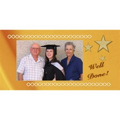 Well Done Graduate 3d Card By Deborah   Congrats Graduate 3d Greeting Card (8x4)   Ufzvhcnr4rbt   Www Artscow Com Front