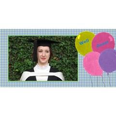 My Graduate 3d Greetiing Card By Deborah   Congrats Graduate 3d Greeting Card (8x4)   Tyad0u7i3db3   Www Artscow Com Front