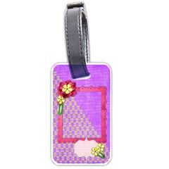 Vibrant Tag By Shelly   Luggage Tag (two Sides)   Nd5ijobpktlx   Www Artscow Com Front