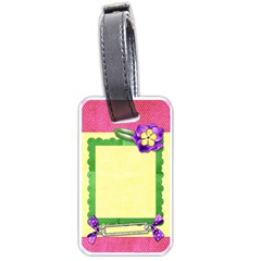 Vibrant Tag By Shelly   Luggage Tag (two Sides)   Nd5ijobpktlx   Www Artscow Com Back