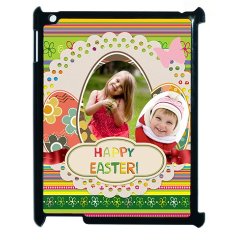 Easter By Easter   Apple Ipad 2 Case (black)   Cjn7nu74af7o   Www Artscow Com Front