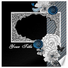 Flourished Frame Canvas Set By One Of A Kind Design Studio   Canvas 12  X 12    F98nzzpwmcb5   Www Artscow Com 12 x12 Canvas - 1