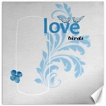 Love Birds Canvas - Canvas 12  x 12