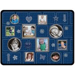 Blue Design XL Fleece Blanket - Fleece Blanket (Large)