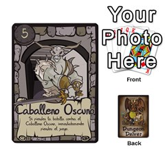 Queen Dungeon Delver [es] By Bosco   Playing Cards 54 Designs   Xgokonf7oiao   Www Artscow Com Front - SpadeQ