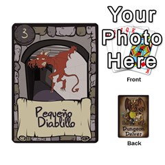 Dungeon Delver [es] By Bosco   Playing Cards 54 Designs   Xgokonf7oiao   Www Artscow Com Front - Heart4