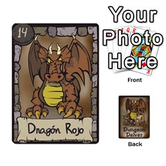 Dungeon Delver [es] By Bosco   Playing Cards 54 Designs   Xgokonf7oiao   Www Artscow Com Front - Heart7