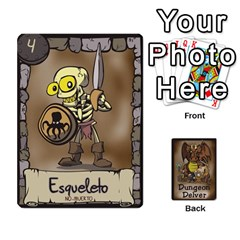 Dungeon Delver [es] By Bosco   Playing Cards 54 Designs   Xgokonf7oiao   Www Artscow Com Front - Diamond2