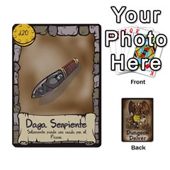 Dungeon Delver [es] By Bosco   Playing Cards 54 Designs   Xgokonf7oiao   Www Artscow Com Front - Club9