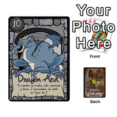 Dungeon Delver [es] By Bosco   Playing Cards 54 Designs   Xgokonf7oiao   Www Artscow Com Front - Spade9