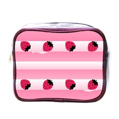 Strawberry Cream Cake Mini Toiletries Bag (one Side) by strawberrymilk