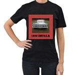 black Impala shirt - Women s Black T-Shirt (Two Sides)