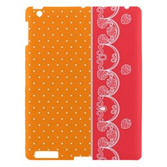 Lace Dots With Rose Gold Apple Ipad 3/4 Hardshell Case